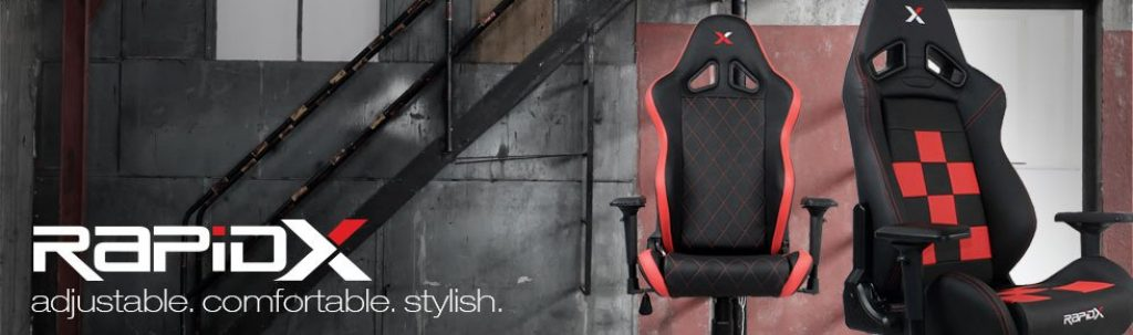 RapidX VR gaming chairs