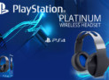 Sony Playstation Platinum Wireless headset