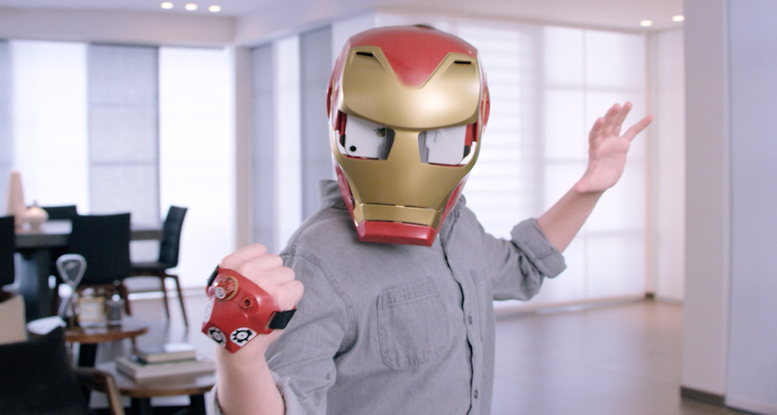 Hero Vision AR Iron Man Helmet - Who Wants to Be a Superhero